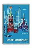 Pacifica Island Art Europa über Moskau - Aeroflot
