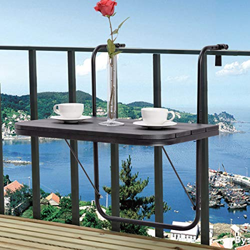 This little hanging table for your balcony is the coolest terrace furniture idea yet