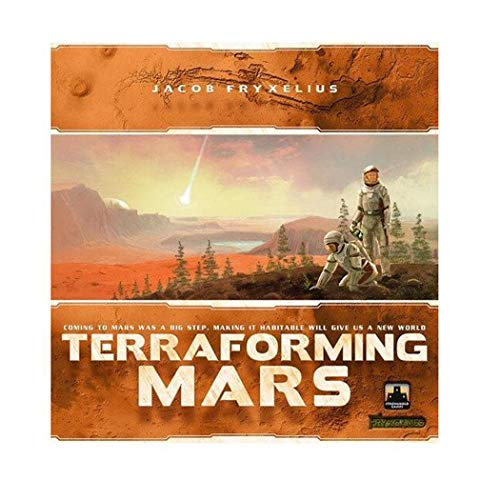 QKQK Terraforming Mars Juego de Mesa Indie Tableros y Tarjetas para Adultos Adolescentes Niños