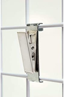 NAHANCO GW122 Clip - Brushed Chrome (Pack of 12)