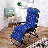 OLEEKA Cojín Largo para sillas reclinables Cojín de Silla Mecedora Plegable Ventana de jardín Alfombra de Piso Alfombra de Asiento de Color sólido