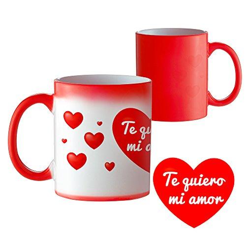 Taza Termosensible y Mágica Taza Mágica Que Cambia de Color Taza Original para Desayuno