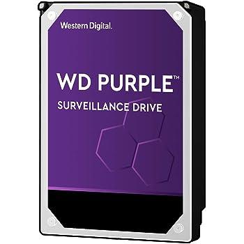 """WD Purple 8TB Surveillance Internal Hard Drive - 7200 RPM Class, SATA 6 GB/S, 256 MB Cache, 3.5"""" - WD82PURZ"""