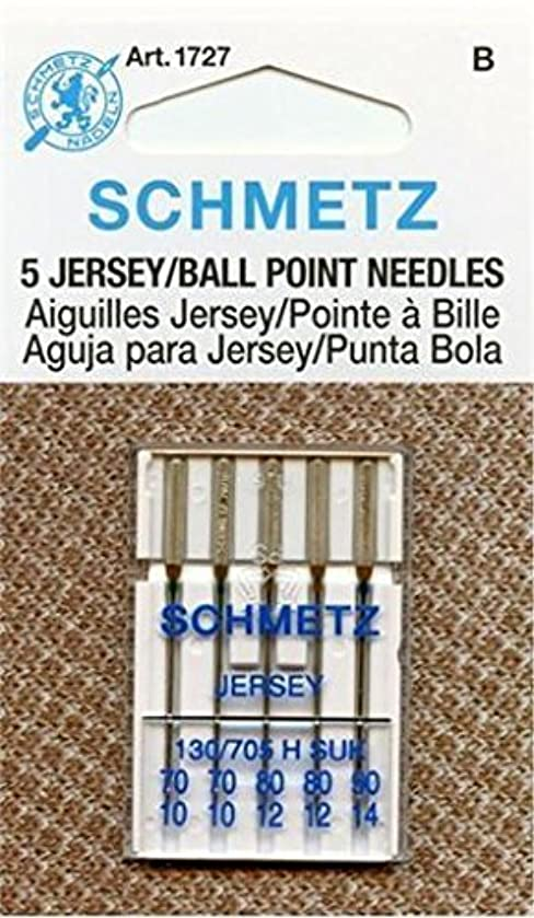 Euro-Notions Ball Point Jersey Machine Needles Assorted Sizes