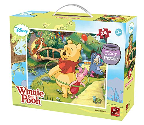 King 5274 Winnie The Pooh Disney Bodenpuzzle (24)