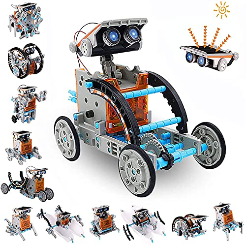 AceLife STEM Solar Robot Toy 12-in-1 Educational Science Experiment kit DIY...