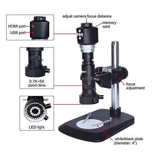 INSIZE ISM-DM40 DIGITAL MEASURING MICROSCOPE?Magnification 15X~205X (on 19' monitor)