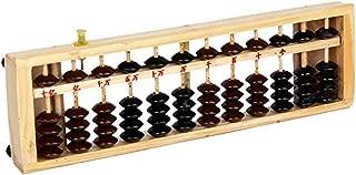 Ogquaton 1 ST/ÜCKE Kunststoff 15 Ziffern Abacus Tragbarer Taschenrechner Soroban Arithmetik Soroban Kid s Berechnungswerkzeug f/ür Home Office Schule Bequem Und Praktisch