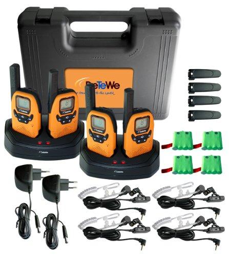 DeTeWe PMR Outdoor 8000 Quad Funkgerät 4-er Set