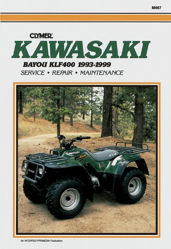 Kawasaki KLF400 Bayou 1993-1999 (Clymer All-Terrain Vehicles)
