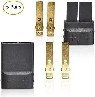 Youme 5 Pairs (10pcs) Traxxas/TRX Plugs Lipo/NiMh Brushless ESC Battery RC Connector