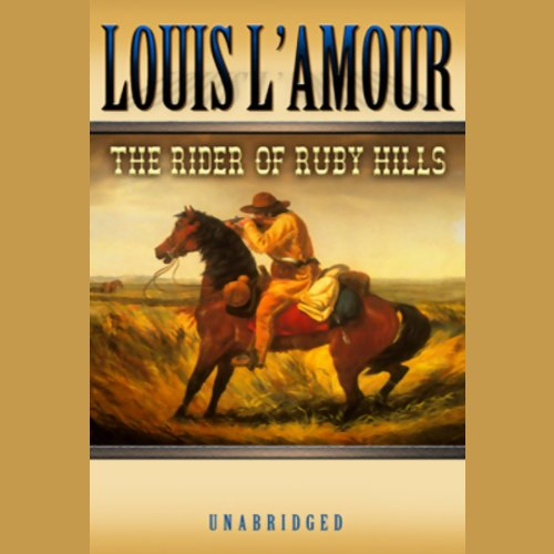 The Rider of the Ruby Hills audiobook cover art