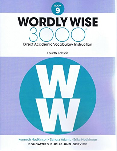 Wordly Wise, Book 9: 3000 Direct Academic Vocabulary Instruction