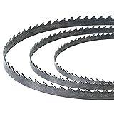SIP 01402 - Hoja para sierra de cinta (1790 mm, 70 1/4 x 10 mm, 6 dientes por pulgada, para sierra de banda de 25,4 cm)