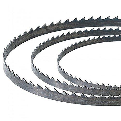 Scheppach Basa 1 Basato 1 Bandsägeblätter, 0,63 cm, 0,93 cm, 1,27 cm, 3 Stück in der Packung