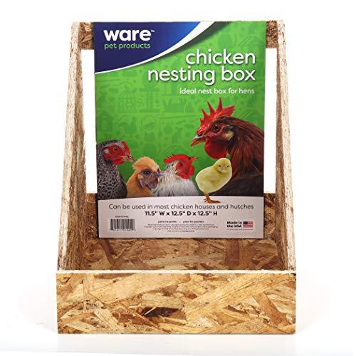 Ware Manufacturing 01492 Waren-Nistkasten für Hühner, Einzelpackung