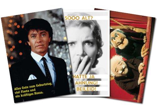 3er-Set: Postkarten A6 +++ MIX SET Nr. 1 von modern times +++ 3 lustige GEBURTSTAGS-Motive +++