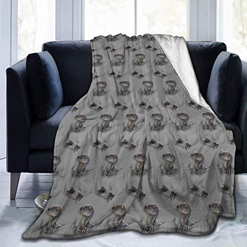 SOUL-RAY Protector de bolsillo: tema azul cálido y cómodo y de moda en invierno, mantiene caliente, manta de terciopelo. 50 x 40 pulgadas