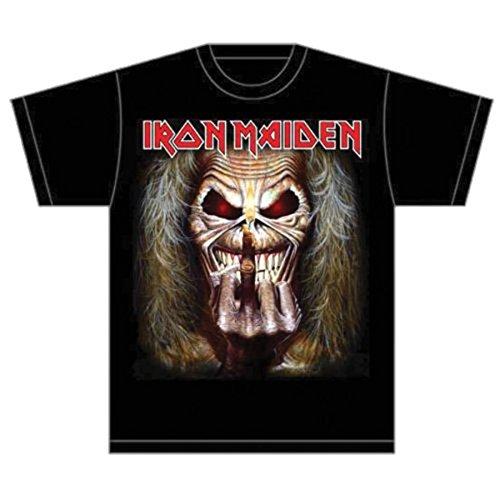 T-Shirt # Xl Black Unisex # Eddie Candle Finger