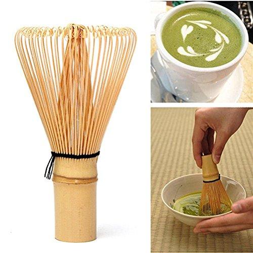 UEETEK Chasen de 115 mm x 63 mm té Matcha bambú bate para