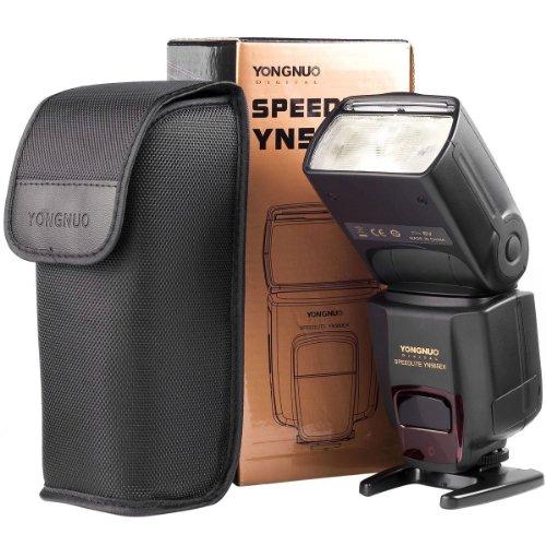 YONGNUO SPEEDLITE YN565EX für Nikon Kameras - iTTL-fähiger Systemblitz Leitzahl 58