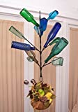 Classic Hanging Southern 12 Bottle Tree ~ PORCH or Garden ~ Wine Bottle ~ Yard and Garden Decor-FREE SHIP -(lower 48)