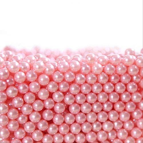 Rangement Maquillage Brosse En Plastique Maquillage Perles Boîte De Support Acrylique Transparent Brosses De Maquillage En Plastique Perles Boîte De Support De Stockage Rose
