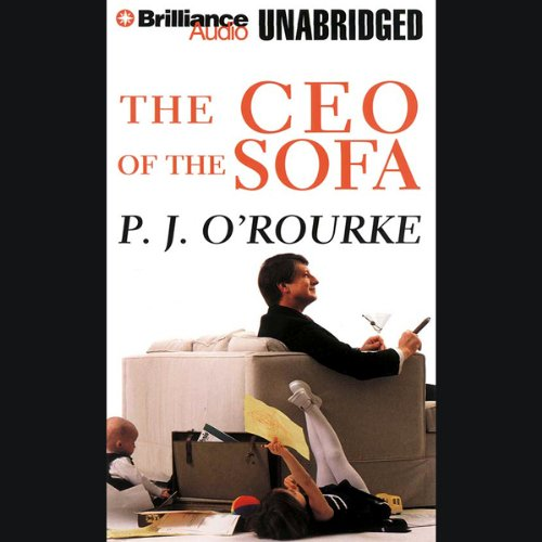 The CEO of the Sofa audiobook cover art