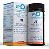 Complete 4-in-1 Urinary Tract Infection Test Strips 50ct, Urine Test Strips for Women, Leukocytes, Nitrite, pH and Blood Testing at Home, Medical Grade High Precision, Test Kit for UTI Treatment