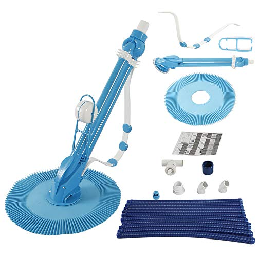 Purchase Simply-Me Automatic Swimming Pool Cleaner Suction Vacuum-Generic Climb Wall Pool Sweeper wi...