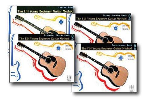 fjh Young principiante método de guitarra nivel 2 unidades – 4 – Juego de libro con CD de – incluye lección, Teoría, explorar acordes y rendimiento.: Amazon.es: Instrumentos musicales