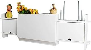 Casiers, étagères et tiroirs Accrocher Étagères Étagères pour Chambre Set-Top Box Stockage Rack Support Mural Cadre De Pri...