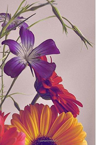 Flowers: Flower Lover's Journal/Notebook/Diary: Volume 1