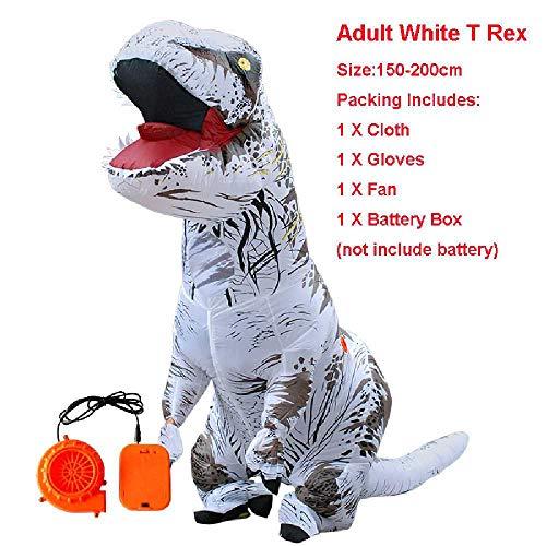 maofan Dinosaurus Opblaasbare Kostuums, Anime Role-playing Kostuums, Halloween Volwassen Kinderen Kostuums Volwassen grootte / 6