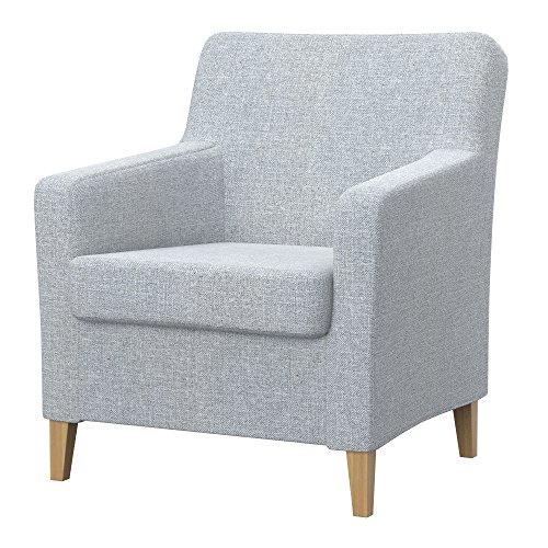 Soferia Bezug fur IKEA KARLSTAD Sessel, altes Modell, Stoff Naturel Light Grey