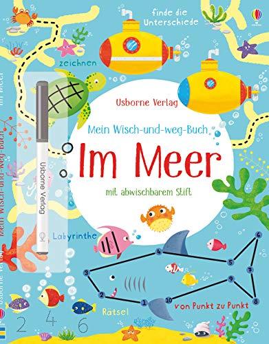 Mein Wisch-und-weg-Buch: Im Meer: mit abwischbarem Stift