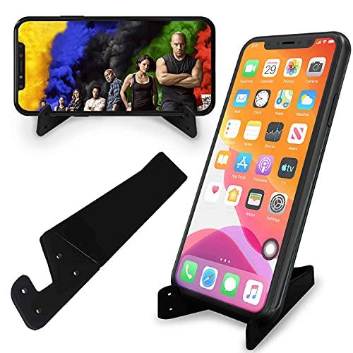Supporto per cellulare, porta telefono da tavolo pieghevole e regolabile, per viaggio in aereo, compatibile con telefono 11 Pro Xs Xs Max Xr X 8, iPad Mini, Nintendo Switch, tablet, tutti i telefoni