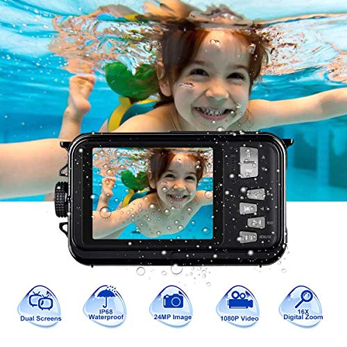 undersplash Underwater Camera Camcorder Full HD 1080P for...