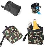RC GearPro Pet Training Bag Hund Snacks Tasche, wasserdichte Outdoor-Welpen-Futterbeutel, tragen Leckereien Spielzeug Poop Bag Dispenser (Grün)