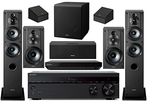 Sony 7.2-Channel Wireless Bluetooth 4K 3D HD Blu-ray A/V Surround