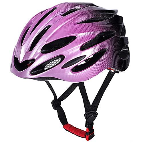 Casco de Bici,Casco de Bicicleta para Adulto Hombre Mujer con extraíble acolchado, Casco de Ciclismo Ligero Carretera Montaña,Tamaño Ajustable 56-62 cm,Protección Seguridad.