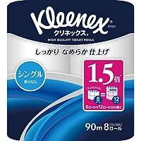 日本製紙クレシア クリネックスコンパクト シングル90m 8個×4