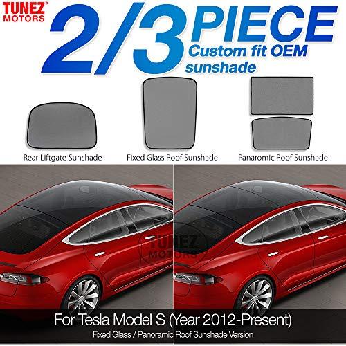Glasdach Sonnenschutz für Model S