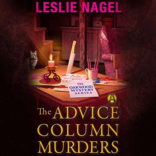 The Advice Column Murders audiobook cover art