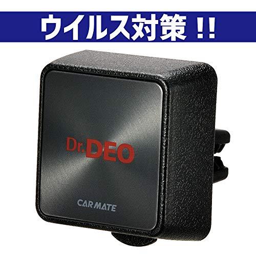 カーメイト 車用 消臭剤 ドクターデオ(Dr.DEO) プレミアム エアコン取り付け型 無香 安定化二酸化塩素 8g D222