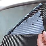 LKXHarleya Juego De 2 Pegatinas Anti UV para Ventanas De Coches Parasol Autoadhesivo De Enfriamiento De Sombrilla De Verano
