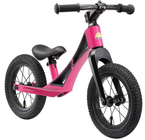 BIKESTAR Bicicleta sin Pedales de magnesio (Muy Ligero!) para niños y niñas 3-4 años | Bici con Ruedas de 12' Edición BMX | Violeta