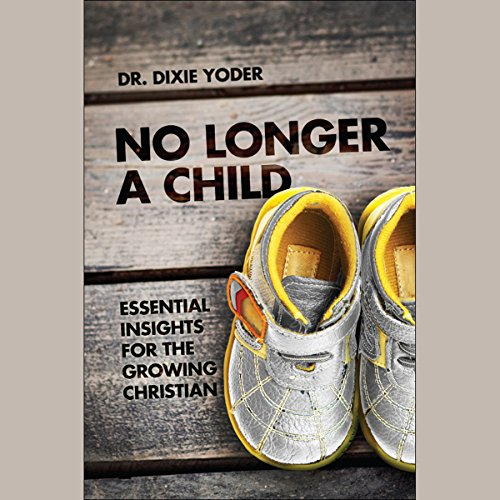 No Longer a Child audiobook cover art