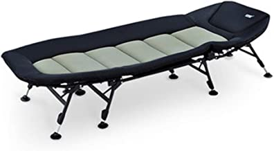 Home Outdoor/Folding Bed Outdoor Camping Bed Single Portable and Lightweight No Rollover (Size : A)