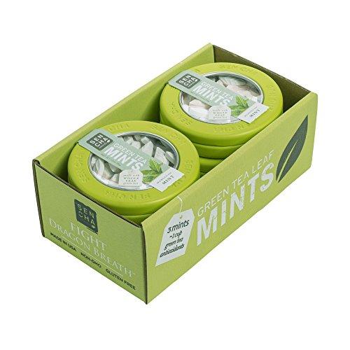SENCHA NATURALS Green Tea Mints, Moroccan Mint, 1.2 Ounce (Pack of 6)